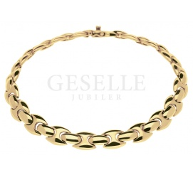 Klasyczna i elegancka bransoletka z żółtego złota 14K idealna na prezent