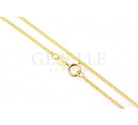 Łańcuszek z żółtego złota próby 585 - lisi ogon, długość 50 cm