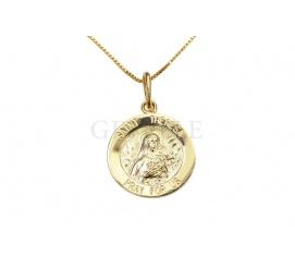 Złoty medalik - Matka Teresa z Kalkuty