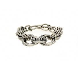 Oryginalna bransoletka ze stali - doskonały prezent dla kobiety z charakterem