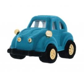 Urocze, niebieskie pudełeczko - samochodzik na drobną biżuterię, idealne dla chłopca na prezent