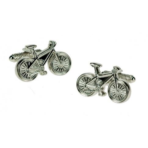 Spinki do mankietów w kształcie rowerów dla chłopaka zabawny dodatek do garnituru!