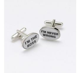 Śmieszny pomysł na prezent dla szefa z poczuciem humoru z napisem I'M THE BOSS!