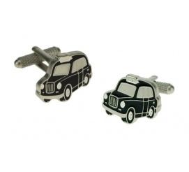 Oryginalne spinki do mankietów w kształcie londyńskiej taksówki na prezent dla mężczyzny chłopaka!