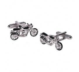 Oryginalne spinki męskie dla pasjonatów szybkiej jazdy - motor Harley!