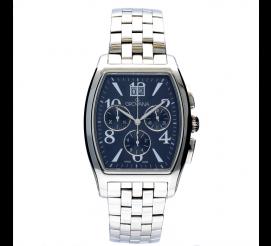 Elegancki męski zegarek Grovana 2093.9137 na stalowej bransolecie