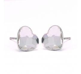 Urocza i delikatna para kolczyków  z kryształami Swarovski ELEMENTS w odcieniu Crystal z kolekcji Casual