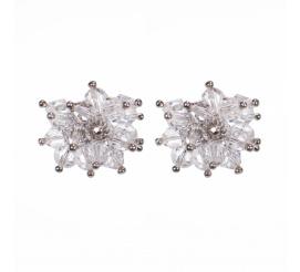 Wyjątkowe kolczyki stworzone z kryształów Swarovski ELEMENTS - kolekcja ślubna