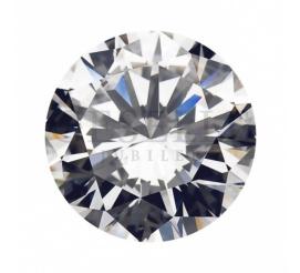 Okazały diament o szlifie brylantowym 0,44 ct SI1/E z certyfikatem GIA
