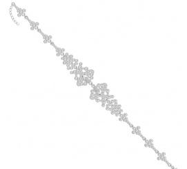 Zmysłowa bransoletka wykonana z kryształków SWAROVSKI ELEMENTS - dodate