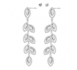 HIT! Ekskluzywne kolczyki z kolekcji ślubnej z kryształami SWAROVSKI