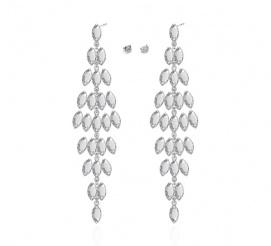 Zjawiskowe i niepowtarzalne kolczyki z kolekcji ślubnej z kryształami Swarovski