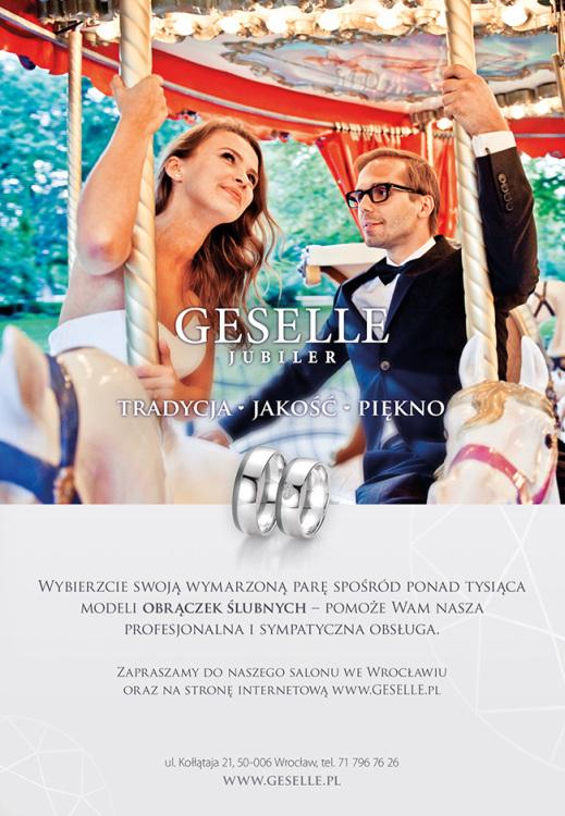 GESELLE Jubiler w Przewodniku Młodej Pary - wyjątkowa reklama obrączek ślubnych