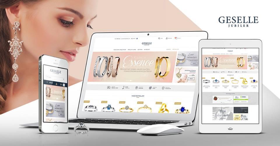 Nowy sklep online GESELLE Jubiler na platformie Ebexo