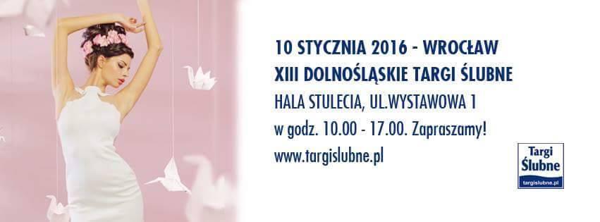 Zaproszenie na Targi Ślubne we Wrocławiu