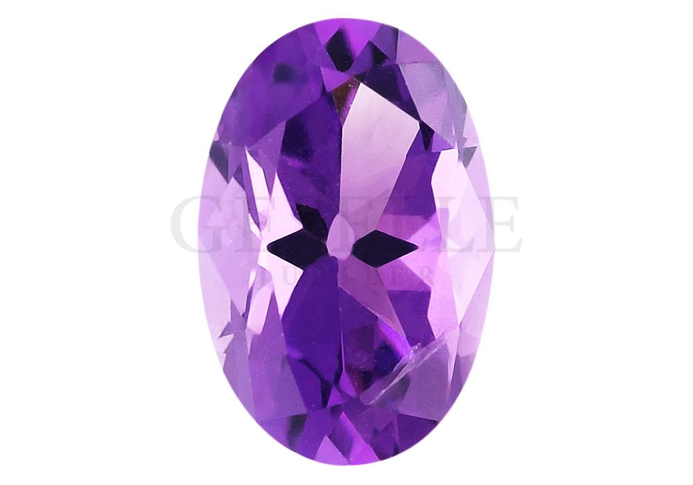 Niezwykły ametyst o wspaniałej fioletowej barwie