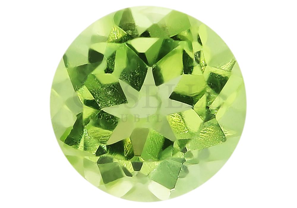 Wspaniały oliwin o zielonej barwie - GESELLE Jubiler