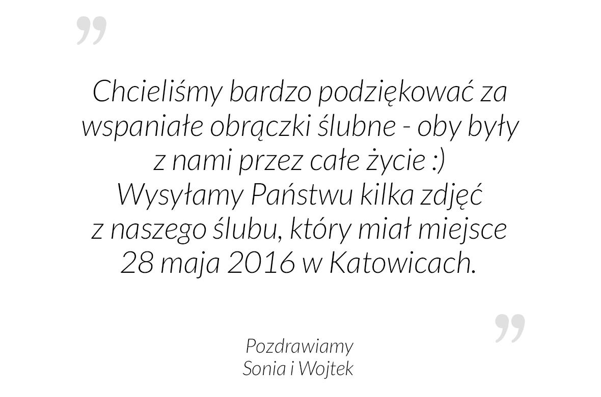 Sonia i Wojtek, 28.05.2016 r.