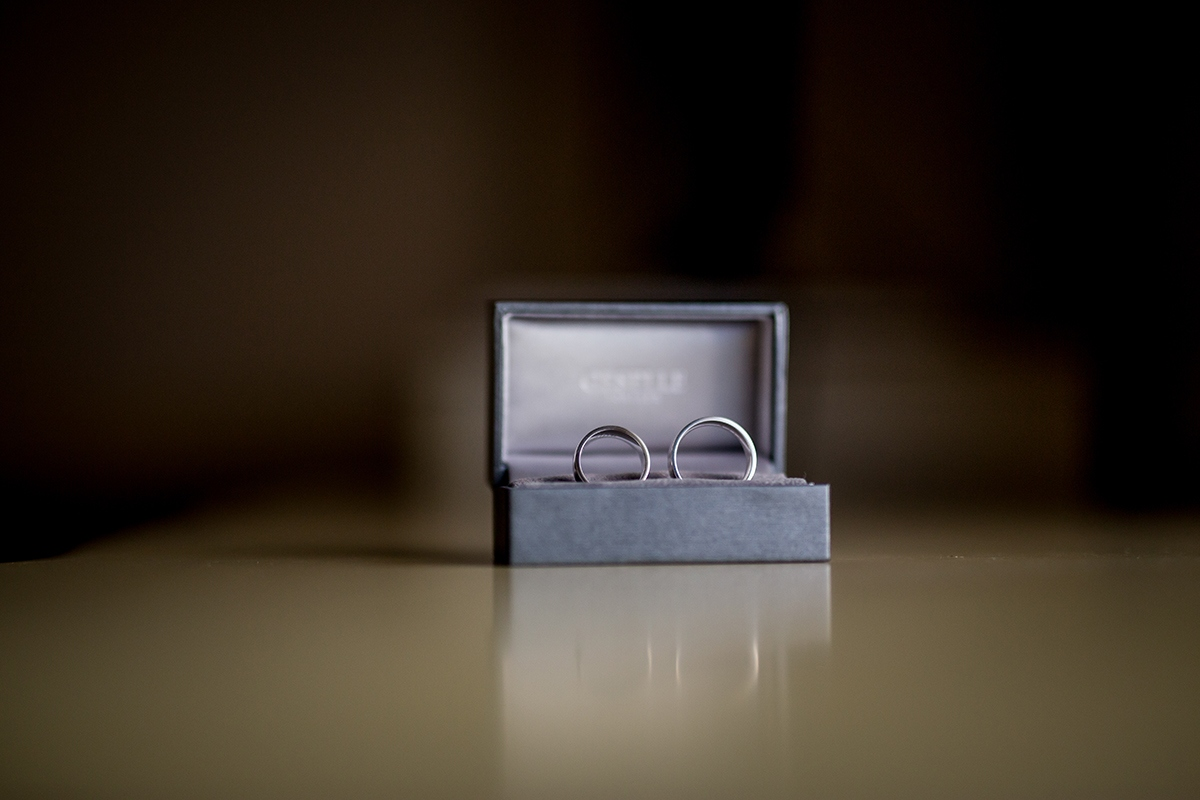 Komplet złotych obrączek ślubnych Klientów GESELLE Jubiler