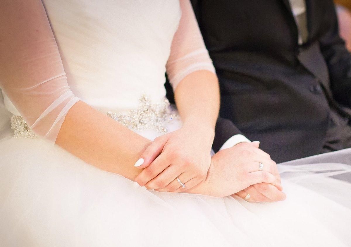 Klienci GESELLE Jubiler - Katarzyna i Jarosław w dniu swojego ślubu