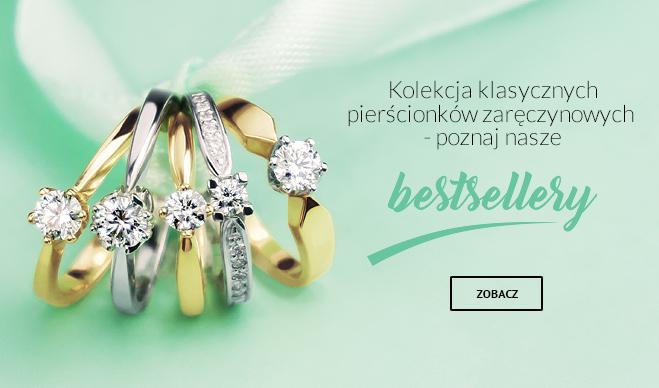 b1ace82167ad Baner reklamowy - Kolekcja klasycznych pierścionków zaręczynowych - Poznaj  nasze bestsellery. Galeria zdjęć klientów GESELLE Jubiler