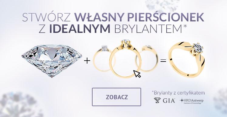 Pierścionki Zaręczynowe Z Brylantami Obrączki ślubne Geselle Jubiler